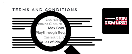 spin samurai terms and conditions