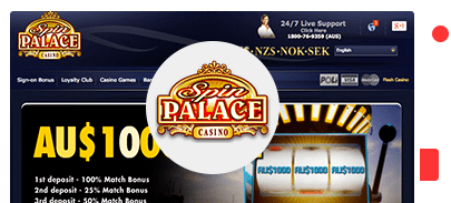 Spin Palace Sign Up Bonus