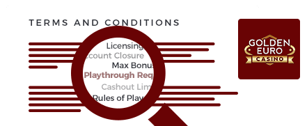 golden euro casino top 10 terms and conditions