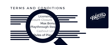 paris casino top 10 terms and conditions