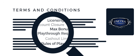 lincoln casino top 10 terms and conditions
