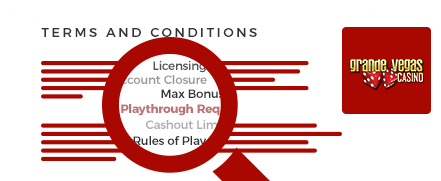 grand vegas casino top 10 terms and conditions