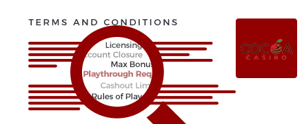 cocoa casino top 10 terms and conditions