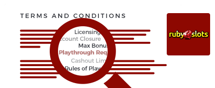 ruby slots casino top 10 terms and conditions