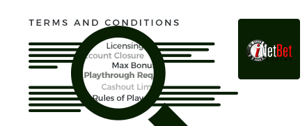 inetbet casino top 10 terms and conditions