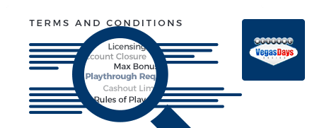vegas days casino terms and conditions top 10