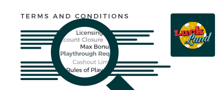 luckland casino terms and conditions top 10
