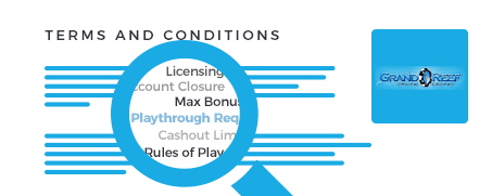 grand reef casino top 10 terms and conditions