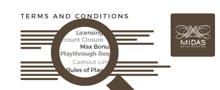 midas casino top 10 terms and conditions