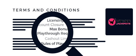 wicked jackpots terms and conditions