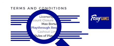 foxy casino terms and conditions top 10