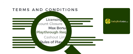 lucky ace casino top 10 terms and conditions