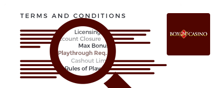 box 24 casino top 10 terms and conditions