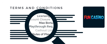 fun casino top 10 terms and conditions