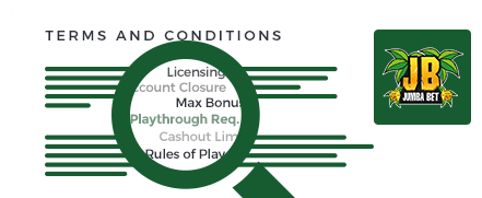 Jumba Bet Casino Top 10 Terms and Conditions