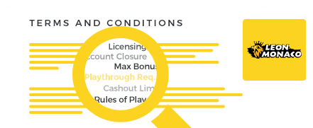 Leo Monaco Casino Top 10 Terms and Conditions