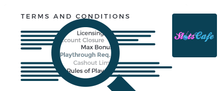 Slots Cafe Casino top 10 terms and conditions