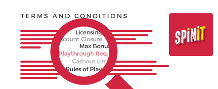 Spinit Casino Top 10 Terms and Conditions