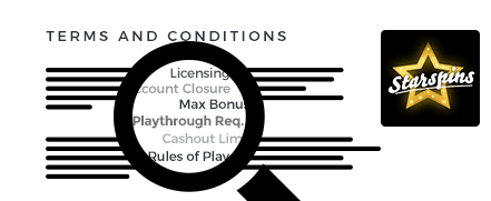 Starspins Casino top 10 terms and conditions