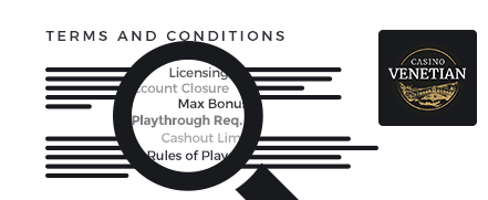 venetian top 10 casino terms and conditions