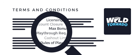 wild tornado casino top 10 terms and conditions