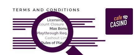 cafe casino top 10 terms and conditions