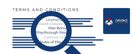 Drake Casino terms and conditions