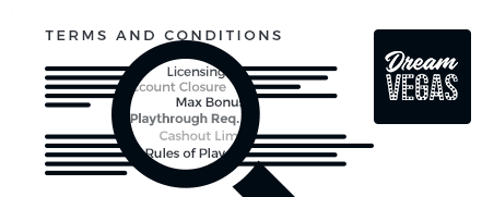 dream vegas casino top 10 terms and conditions