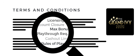 grand ivy casino top 10 terms and conditions