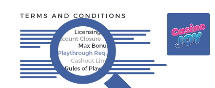 Joy Casino terms and conditions top 10 casinos