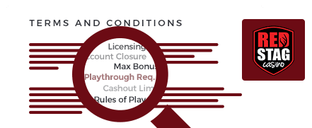 Red Stag Casino top 10 terms and conditions