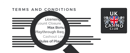 UK Club Casino terms and conditions top 10 casinos