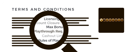 winorama terms and conditions