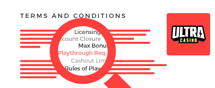 UltraCasino Terms and Conditions